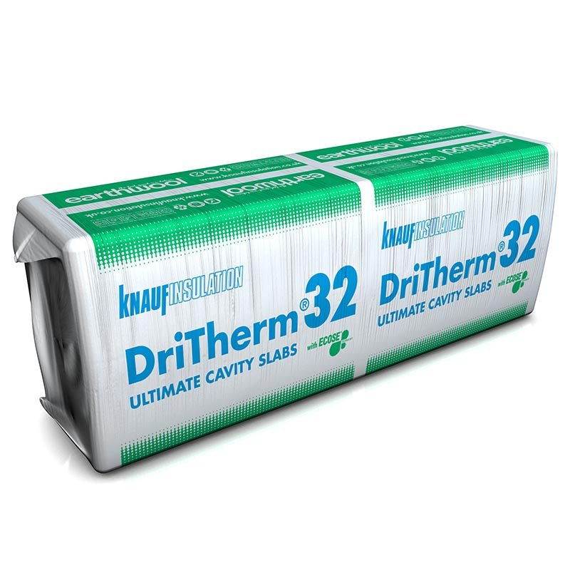Knauf Insulation Earthwool Dritherm 32 Ultimate Unpackaged