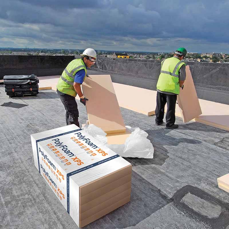 Polyfoam Roofboard Extra Installation