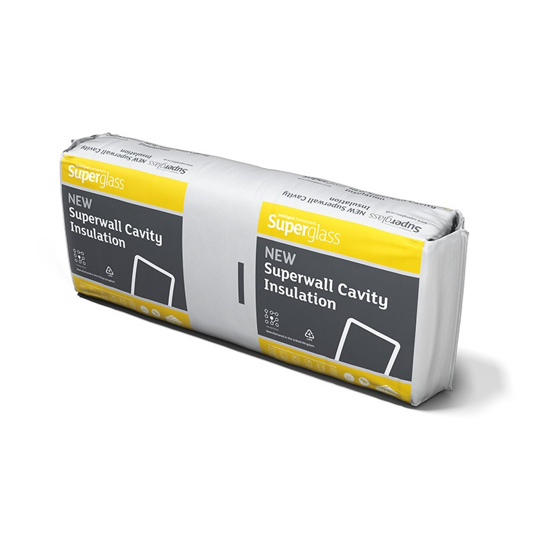 Superglass Superwall 36 Cavity Wall Batt
