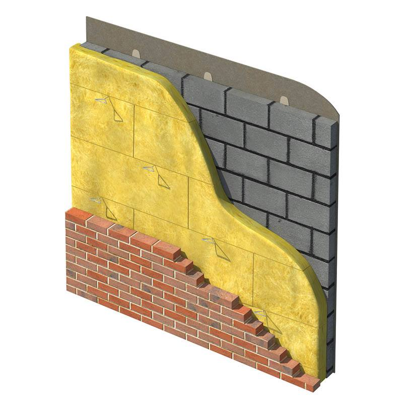 Superglass Superwall 36 Cavity Wall Batt Application
