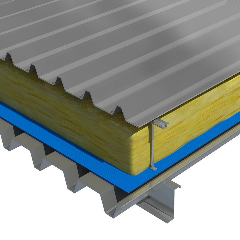Superglass Cladding Mat 40 Metal Roof Application