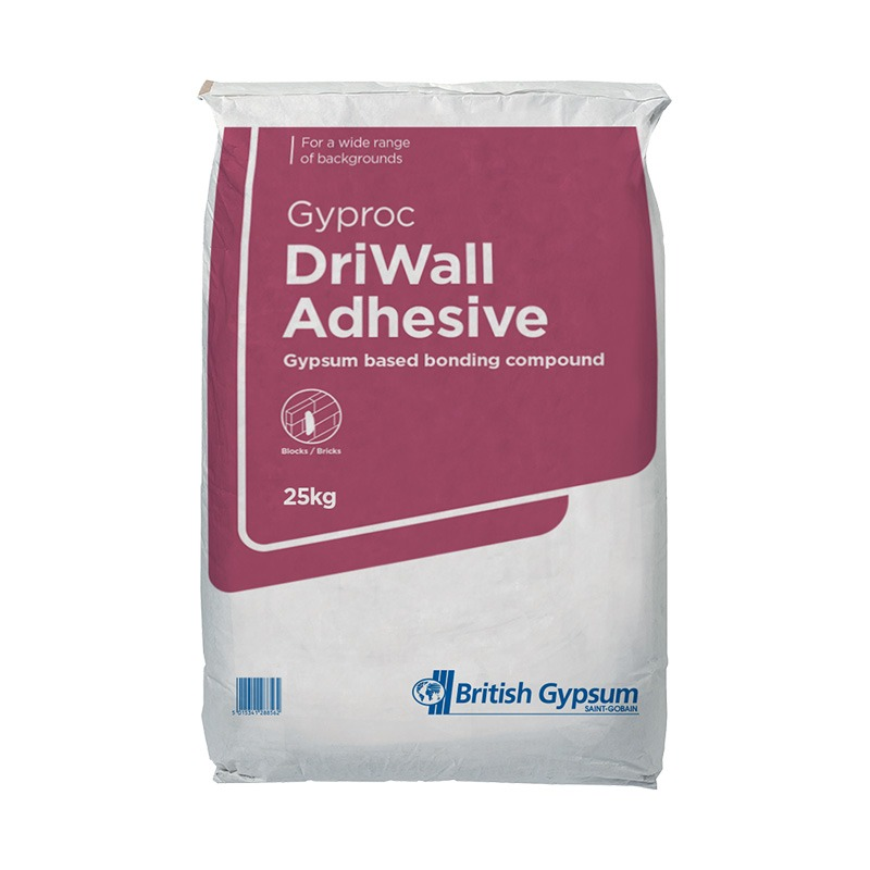 British Gypsum Driwall Adhesive