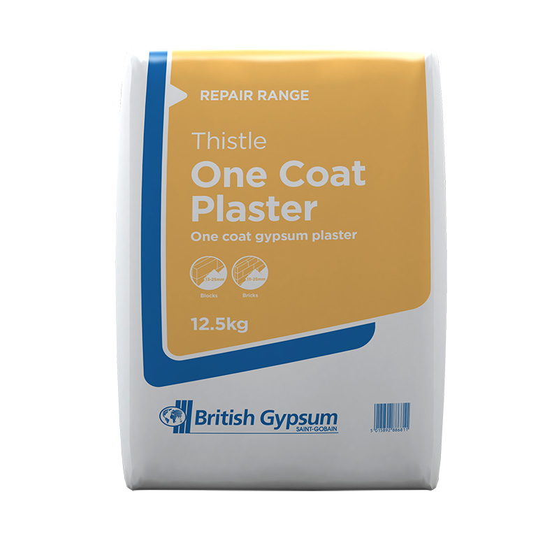 British Gypsum Thistle One Coat Plaster