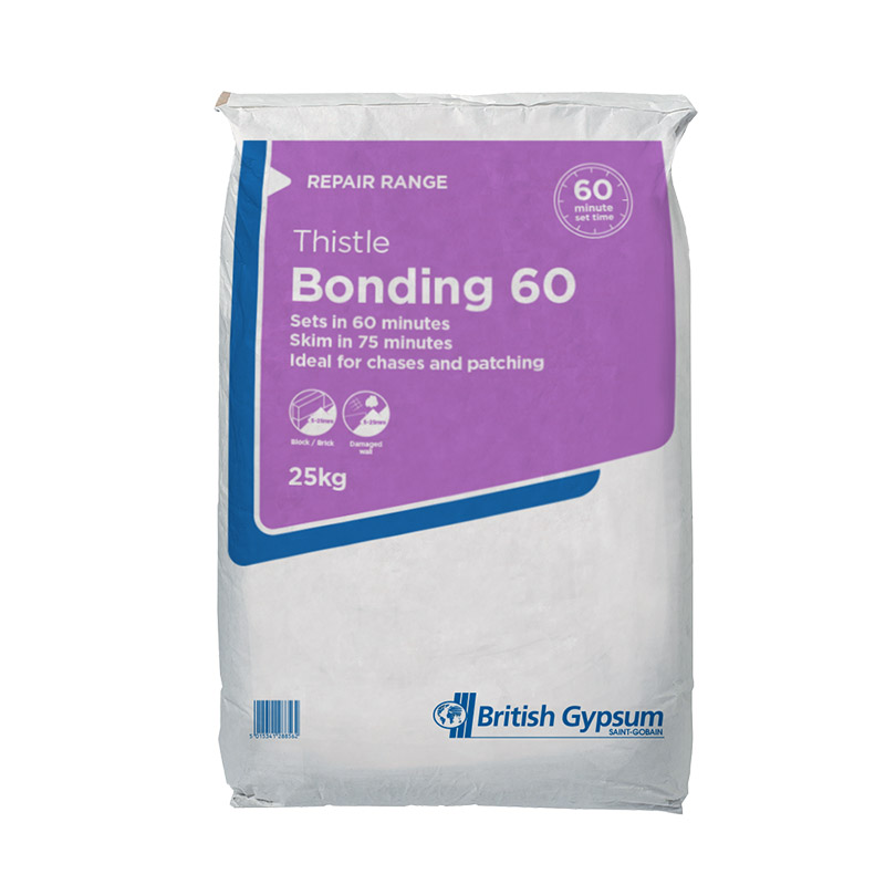 British Gypsum Thistle Bonding 60 10Kg
