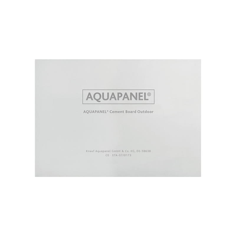 Knauf Aquapanel Cement Board Outdoor Front