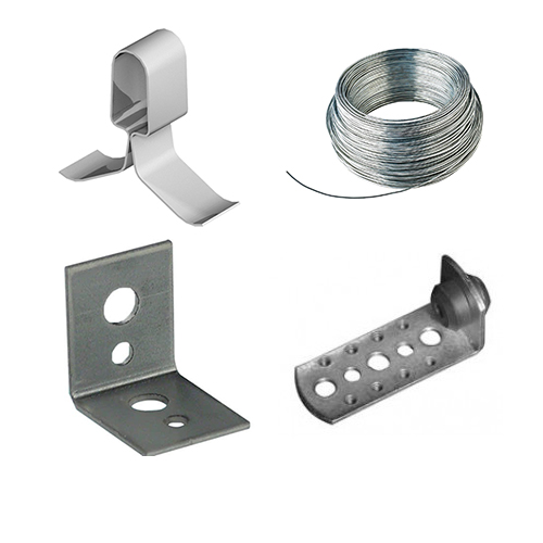 Selection of suspended ceiling accessories