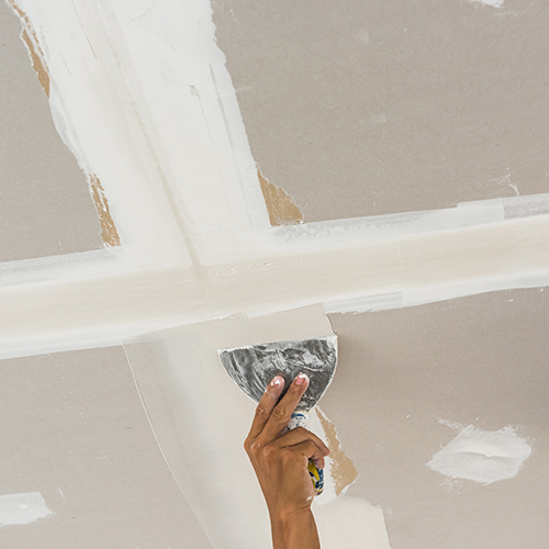 Contractor tape and jointing plasterboard