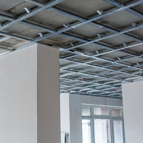 Installation of MF ceiling system