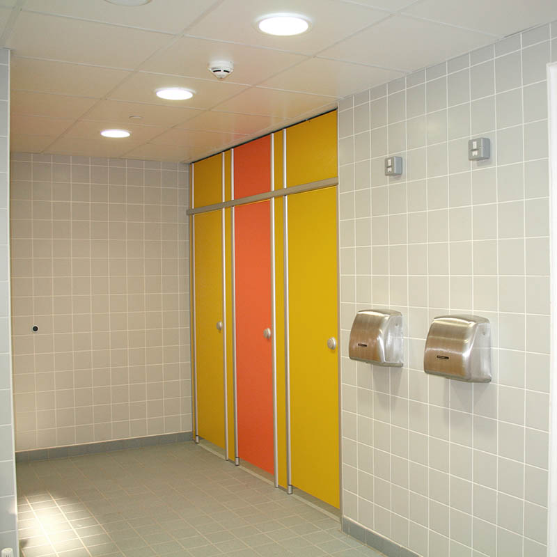 System Building Products Cleancare Bathroom Project