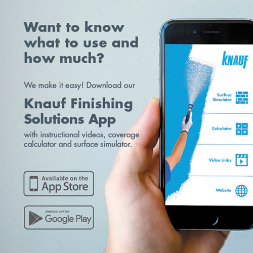 Knauf Finishes App