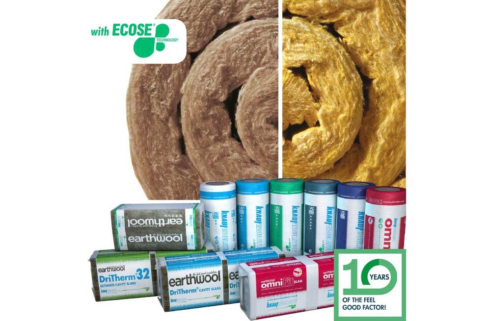 Knauf Insulation 10 Years Of ECOSE