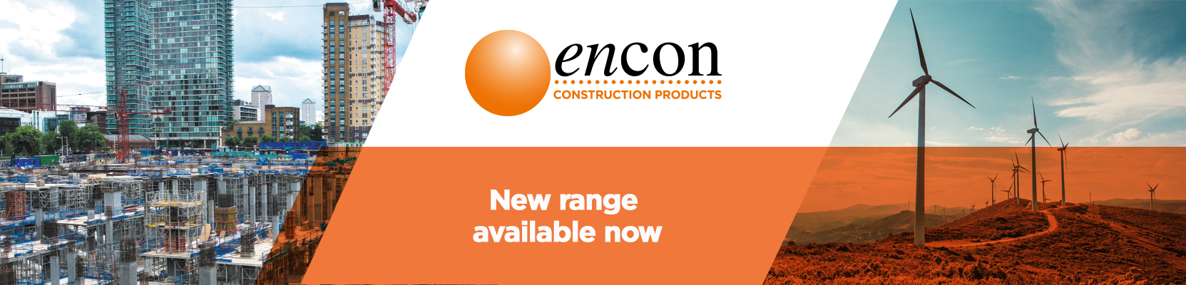 Encon Construction Products advertisement