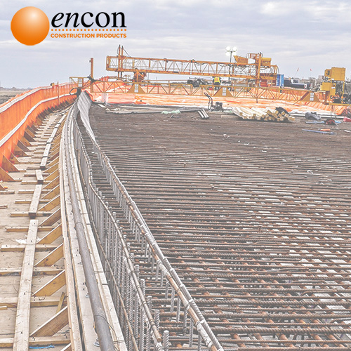 Encon Construction Products supplying materials to road construction