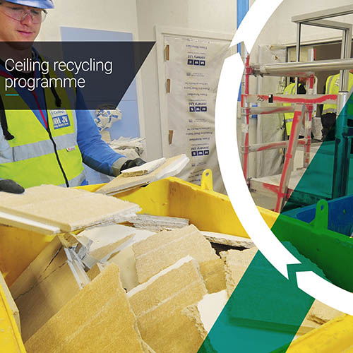 Armstrong Ceiling Solutions Ceiling Tile Recycling