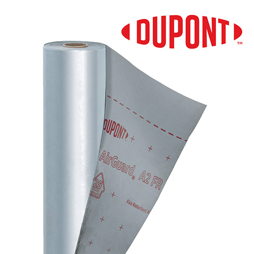 Tyvek Airguard A2 FR Roll Image With Dupont Logo