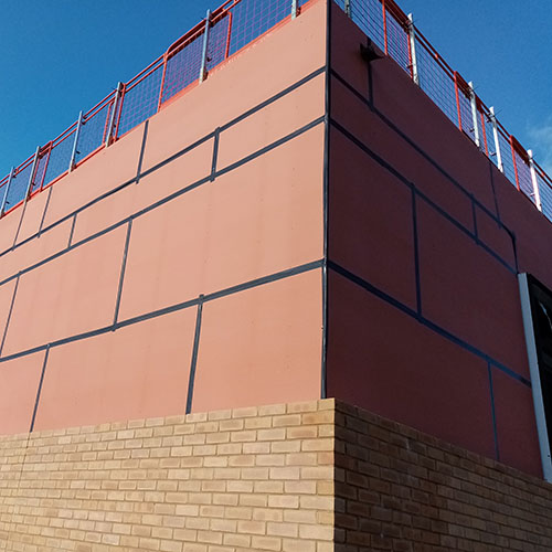 Knauf Windliner Used On External Facade At St Joseph's Primary School